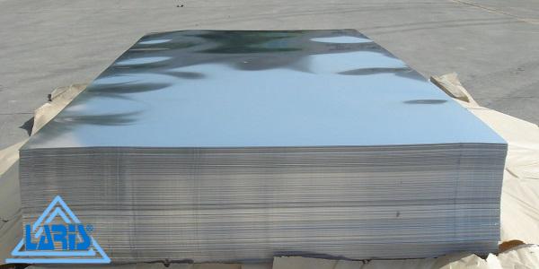 Зеркальный алюминиевый лист - ФОТО - ТМ Ларис