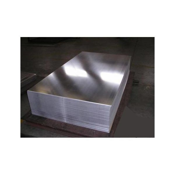 Лист нержавеющий 0.8 мм 1х2 430 BA/PE 0,8 мм AISI 430, AISI 409 BA (полированный) AISI 430, AISI 409 2000 мм - Фото №1