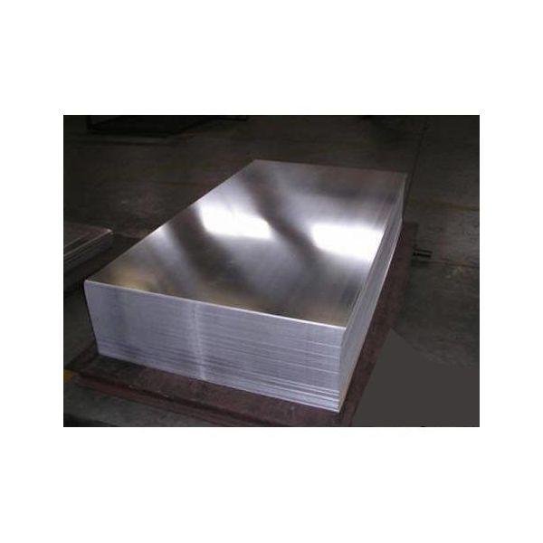 Лист н/ж 0.5 мм 1х2 AISI 430 BA/PE 0,5 мм AISI 430, AISI 409 BA (полірований) AISI 430, AISI 409 - Фото №1