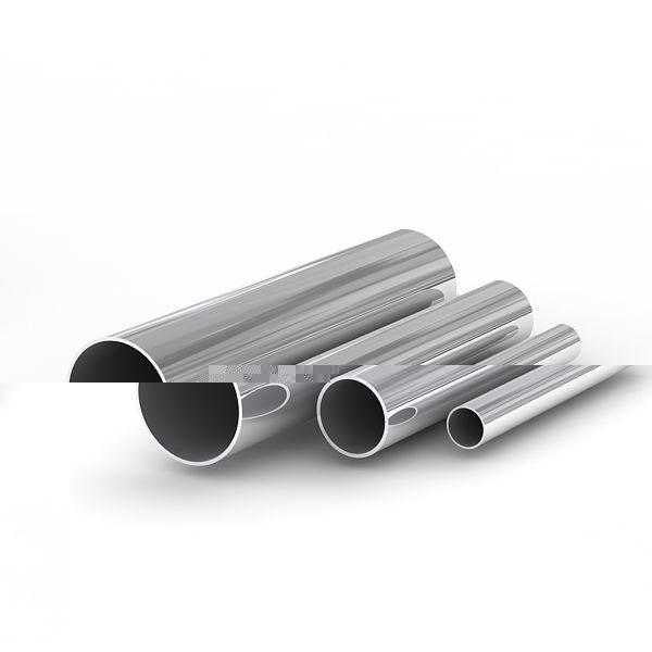 Нержавеющая труба 25 мм AISI 304, AISI 304L 1,5 мм tig Круглая 180 grit (шлифованная поверхность) - Фото №1