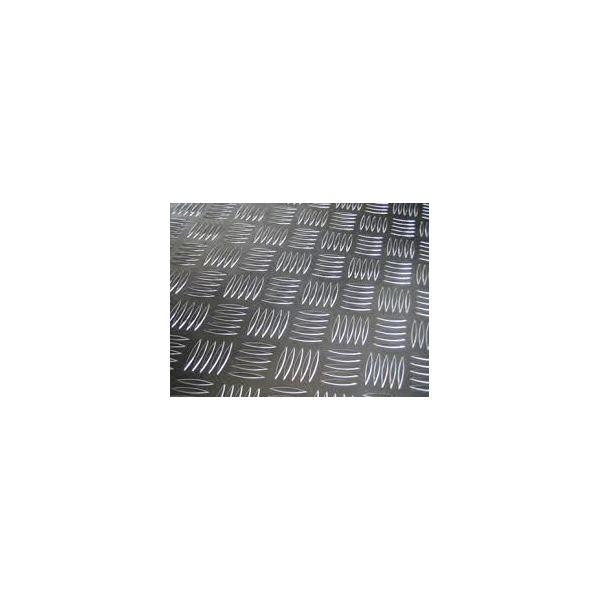 Лист алюм_н_євий 3 мм 1,25х2,5 рифл. рифлений 3 мм 1050 (АД 0) - Фото №1