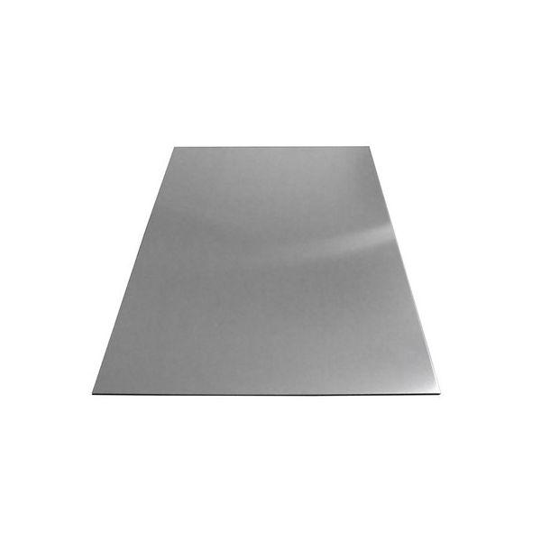 Лист алюминиевый 4 мм 1х2 5754 H12/H22 Матовая 4 мм 5754 (АМГ 3) - Фото №1